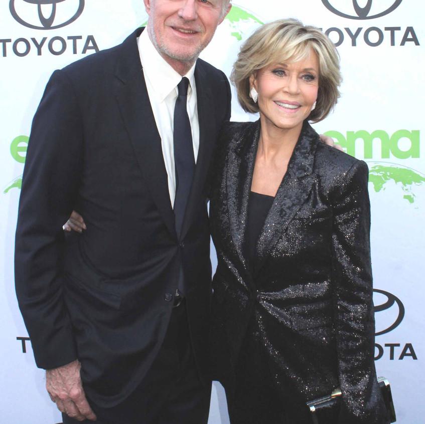 Ed Begley Jr. and Jane Fonda -Actor and actress