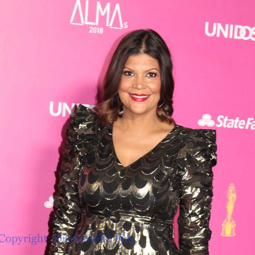 Aida Rodriguez - Comedian on the carpet.