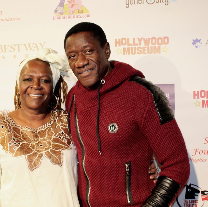 Benjamin Onyango- Actor with Guest