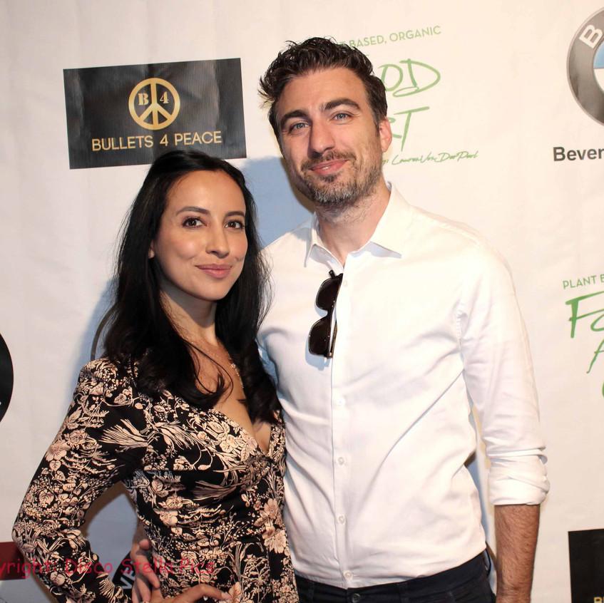 Sofia Gonzalez and David Lamattina