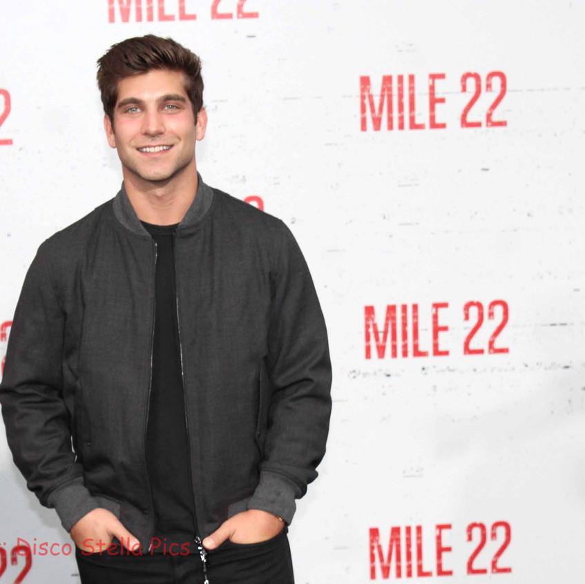 David Bernon- Producer for Mile 22