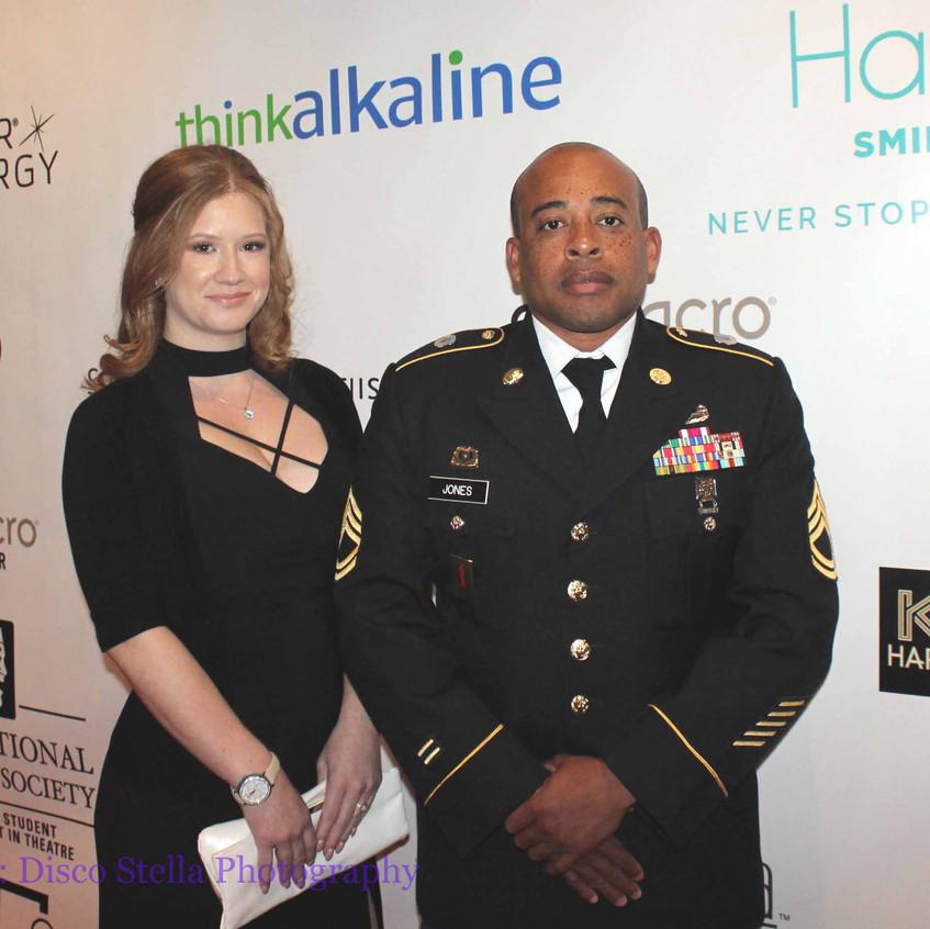 SFC Jones and Lisa Ellis