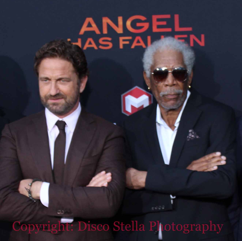 Gerard Butler and Morgan Freeman - Actor