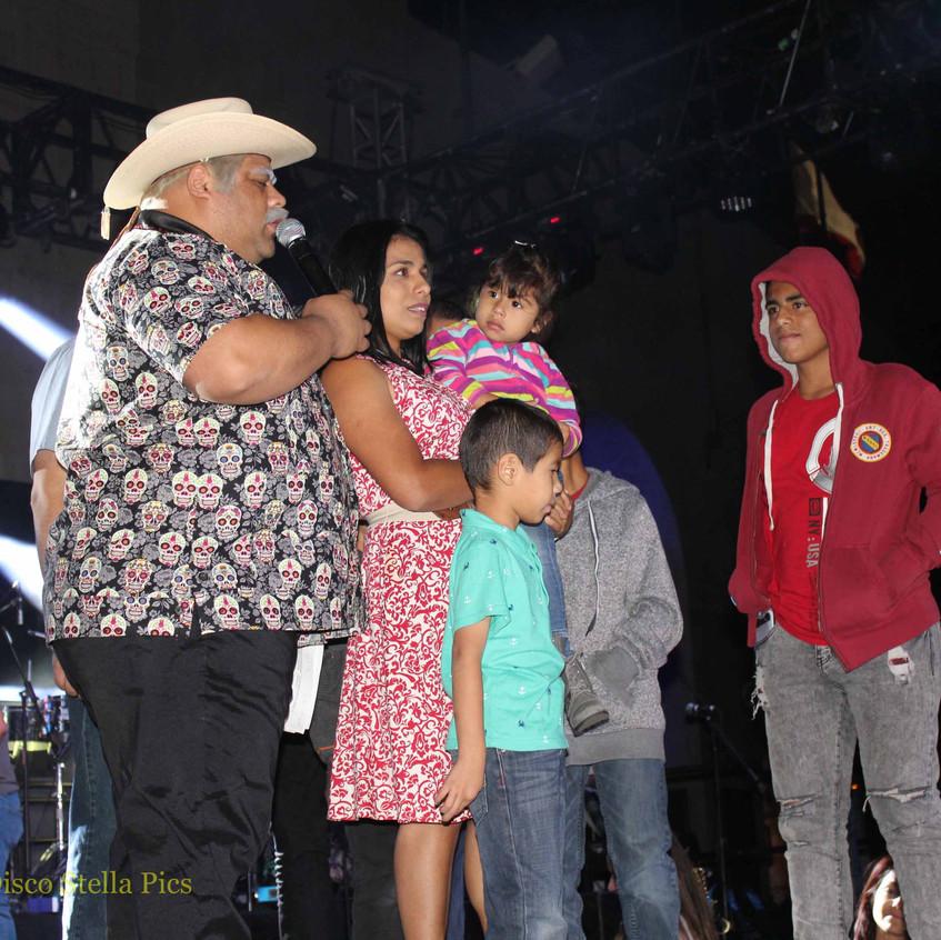 Don Cheto with family