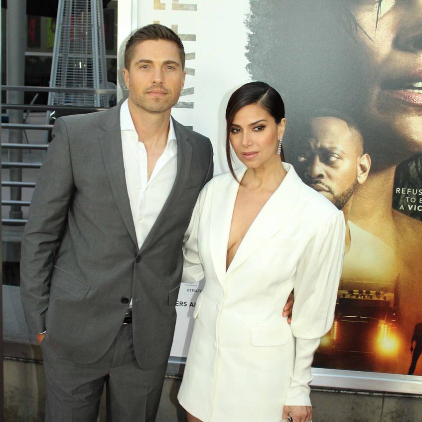 Roselyn  Sanchez - Traffik Cast Actress with Eric Winters - Actor 4