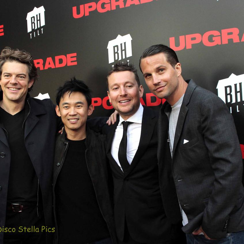 Jason Blum, James Wan, Leigh Whannell and Logan Mashall-Green   4