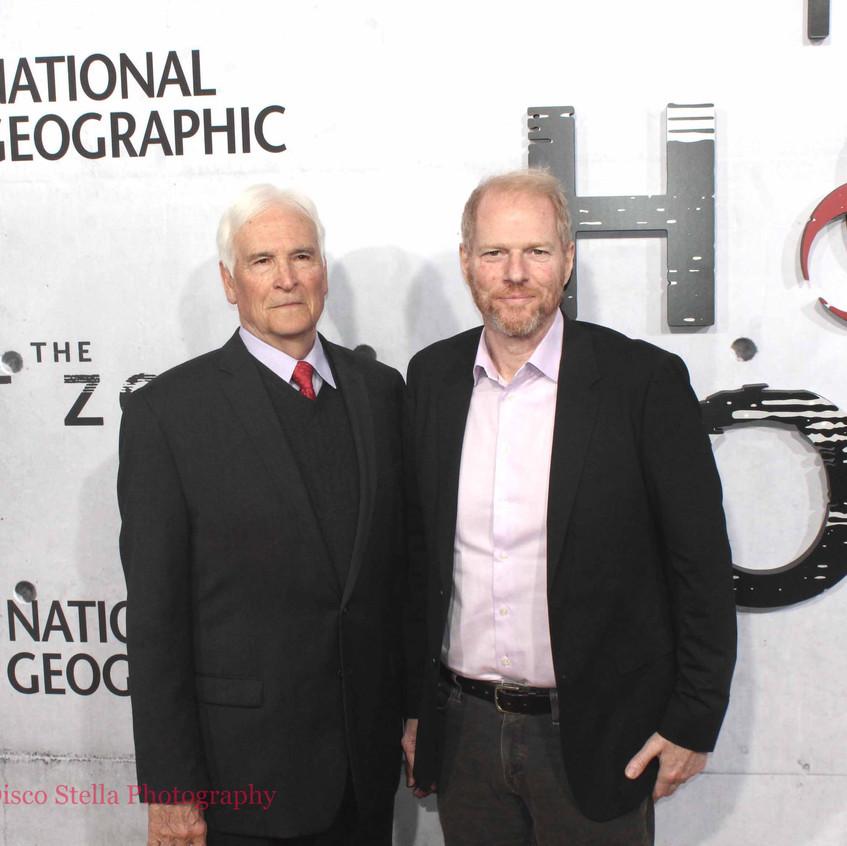 Lt. Col. Jerry Jax and Noah Emmerich
