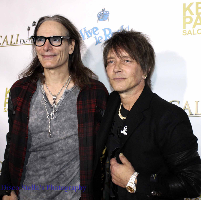 Steve Vai and Billy Morrison