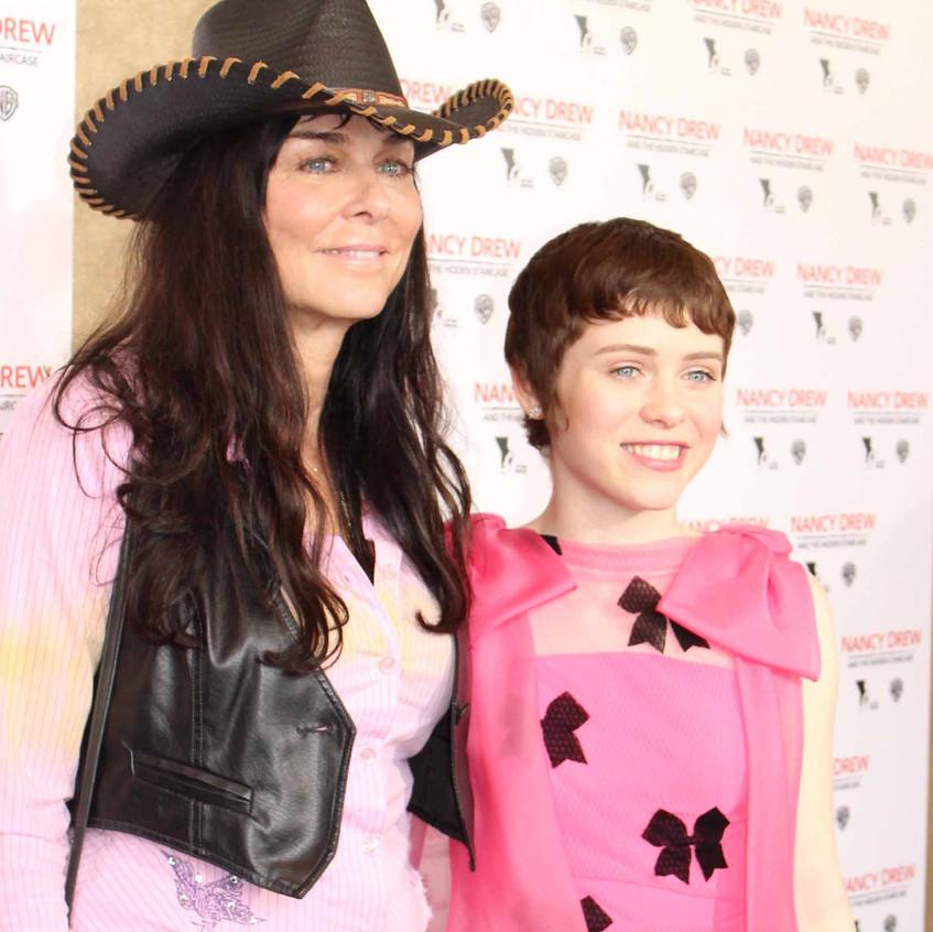 Katt Shea - Director and Sophia Lillis
