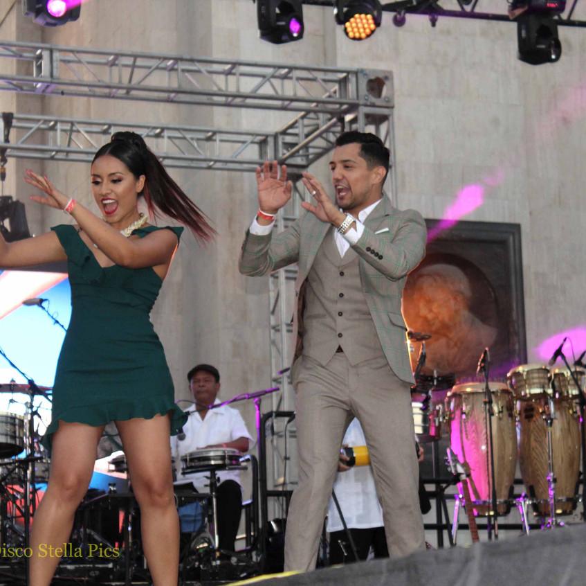 Nitzia Chama -  Bebe Coronel dancing 3