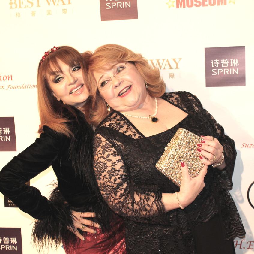 Judy Tenuta - comedian and Patrika Darbo