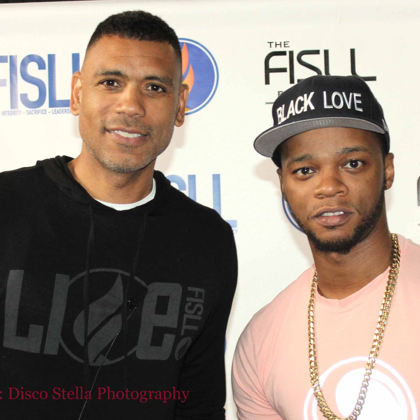 Allan Houston with guest Rapper....