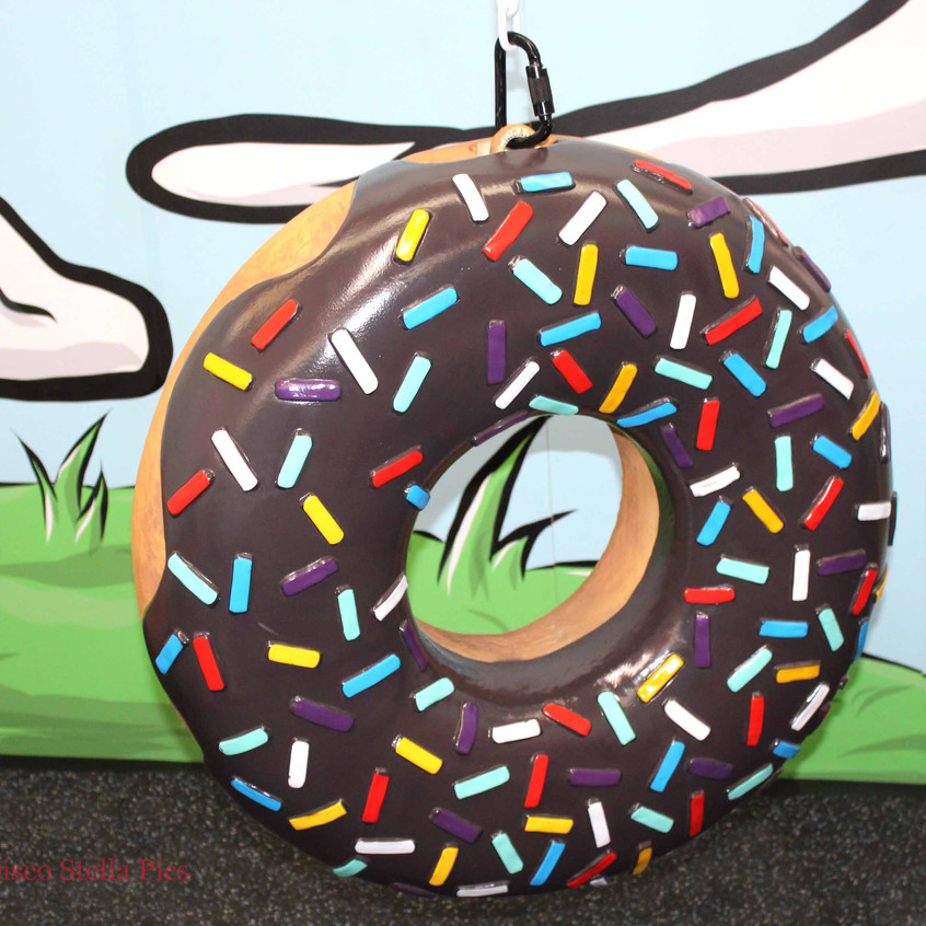 Donut Pop Art