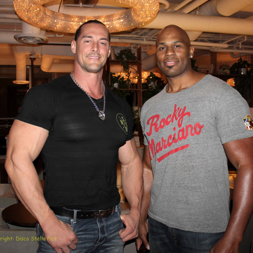 Guests - Pro Fitness Instructor and Pro Figher