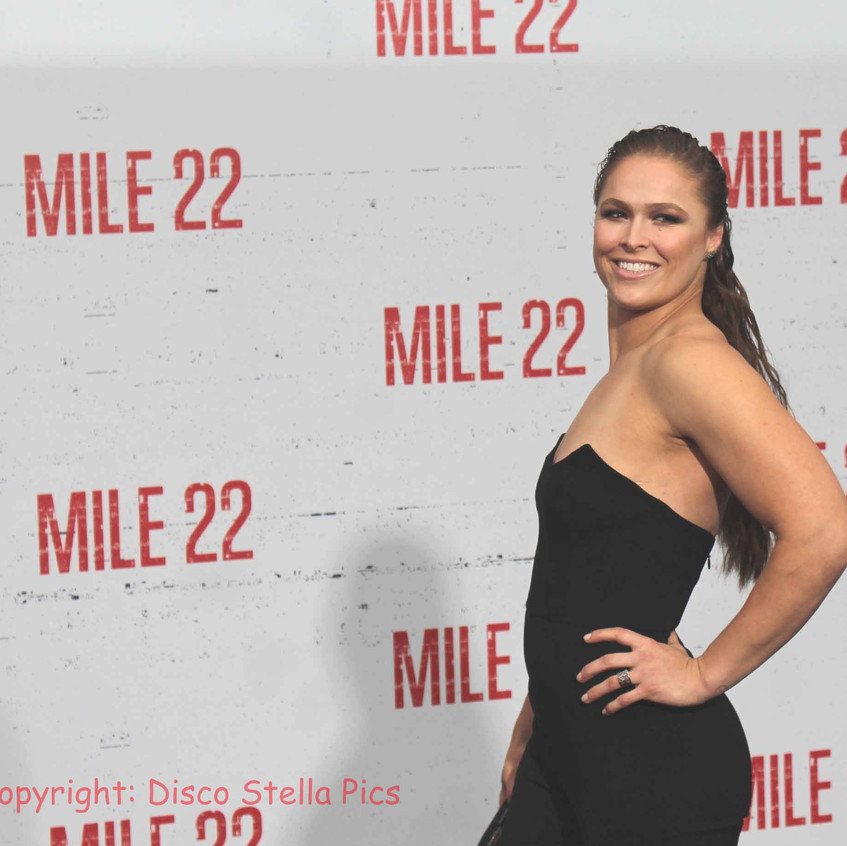 Ronda Rousey - Cast of Mile 22 Actress