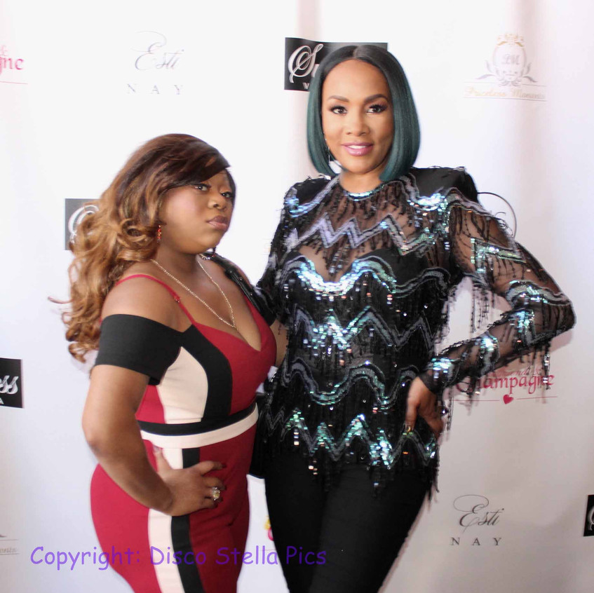 Vivica Fox with Actress Friend