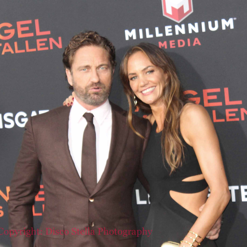 Gerard Butler with lady guest 6
