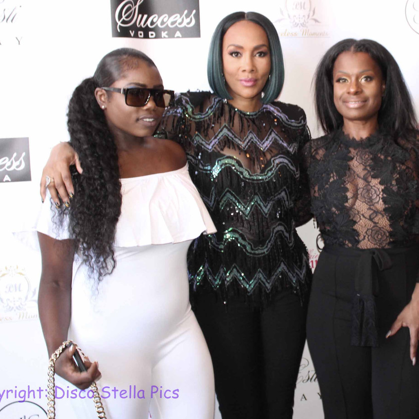 Vivica Fox with PR and Guest 1