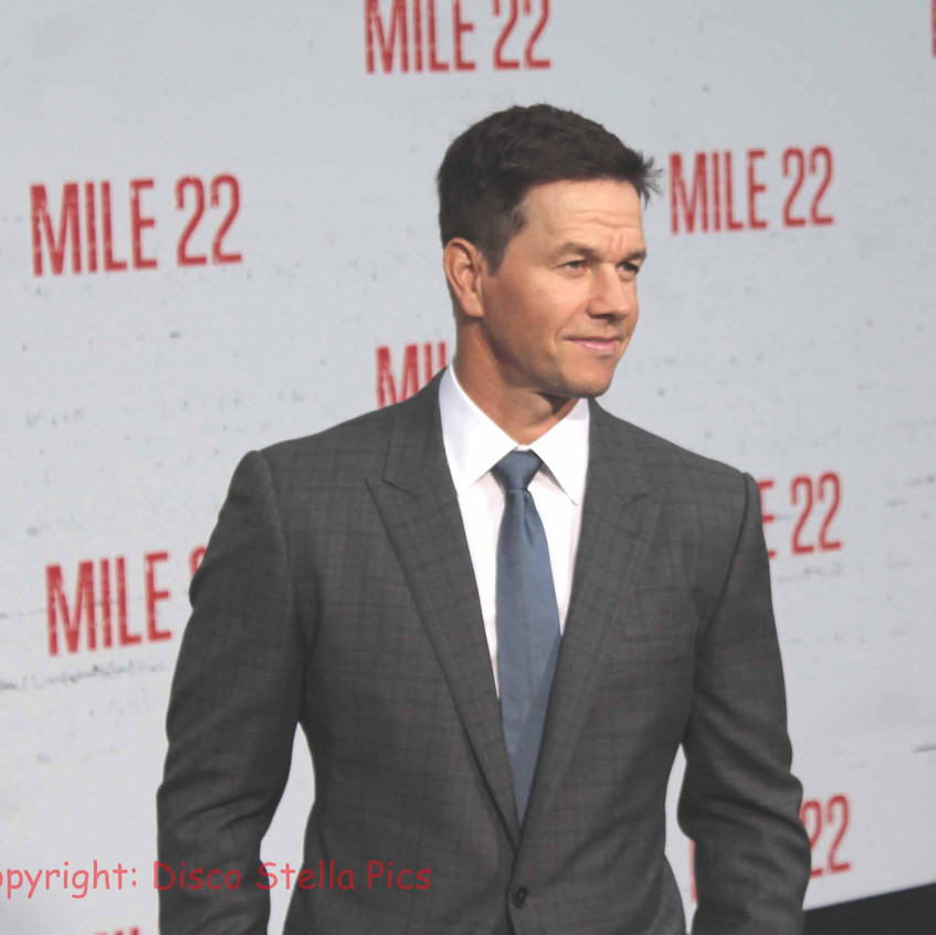 Mark Wahlberg- Cast of Mile 22 on the ca