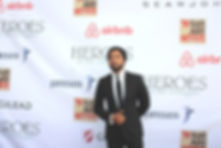 Jussie Smollett (Actor-Empire) at the Heroes in the struggle award & reception at Fox Studios on September 16, 2017. Photo credit: Stella C. Gomez.