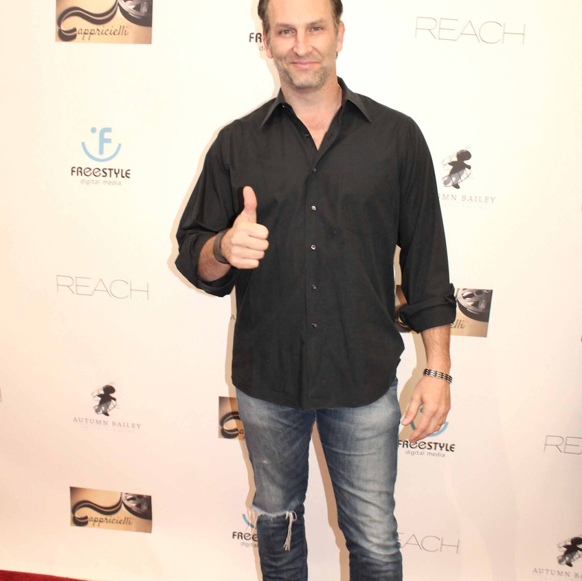 Kevin Sizemore - on the red carpet