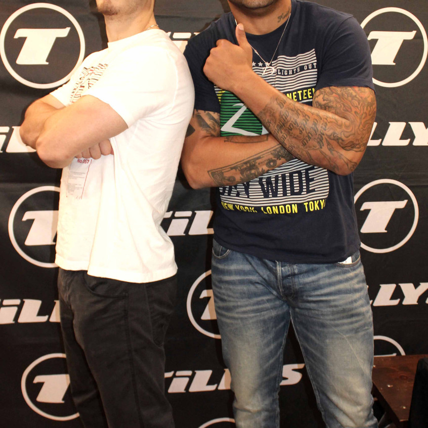 Shawne Merriman with guest 1