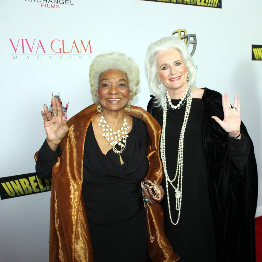 Nichelle Nichols & Celeste Yarnall