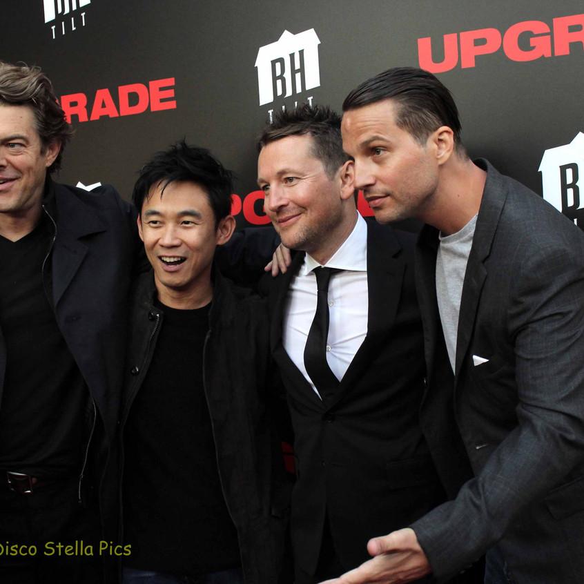 Jason Blum, James Wan, Leigh Whannell and Logan Mashall-Green 1