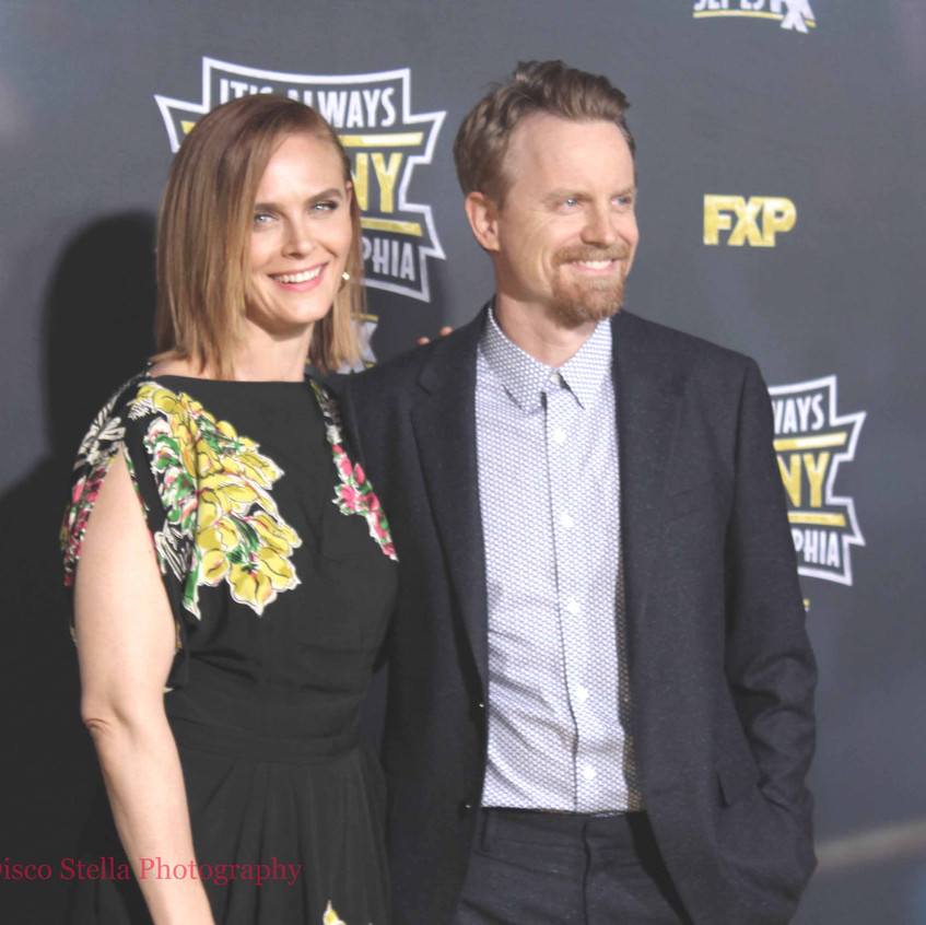 Emily Deschanel and David Hornsby-Actor.