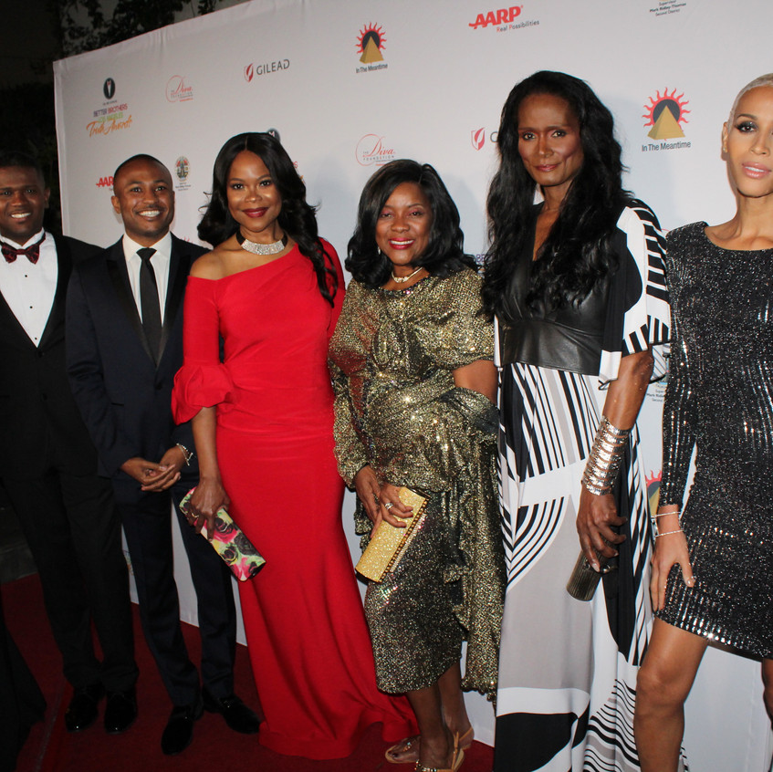 Renee Lawless, Loretta Devine and Guests
