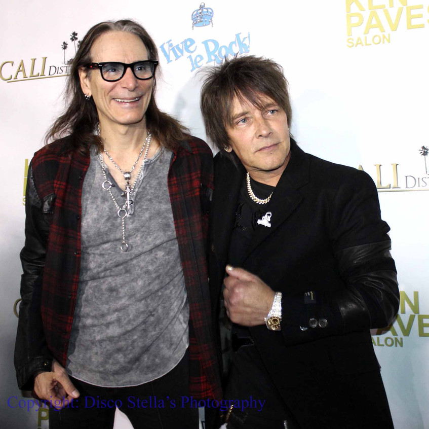 Steve Vai and Billy Morrison.....