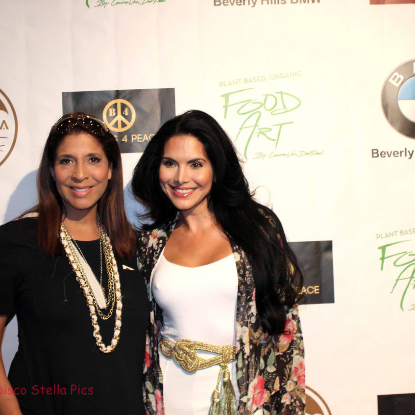 Christine Divine and Joyce Giraud
