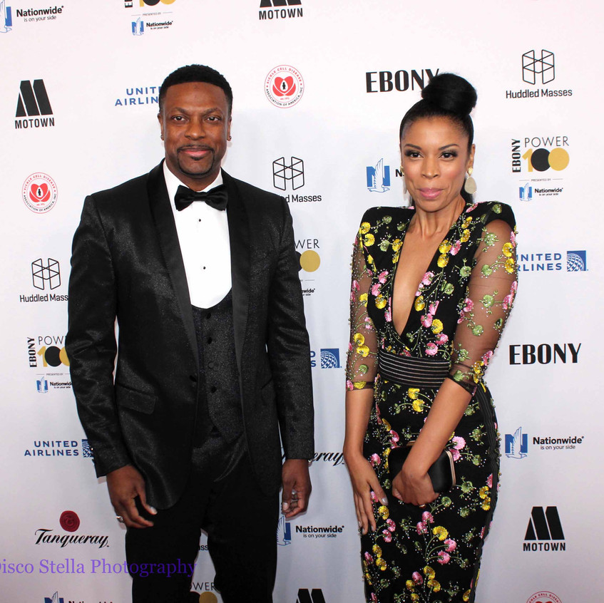 Chris Tucker with guest