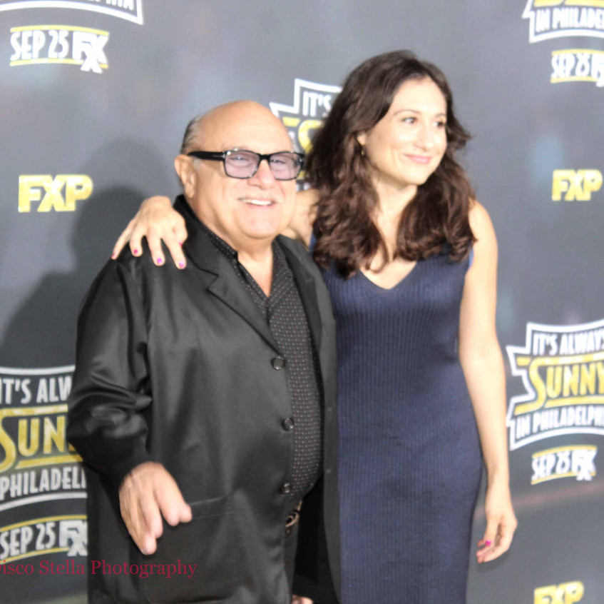 Danny DeVito- Actor - Cast with daughter