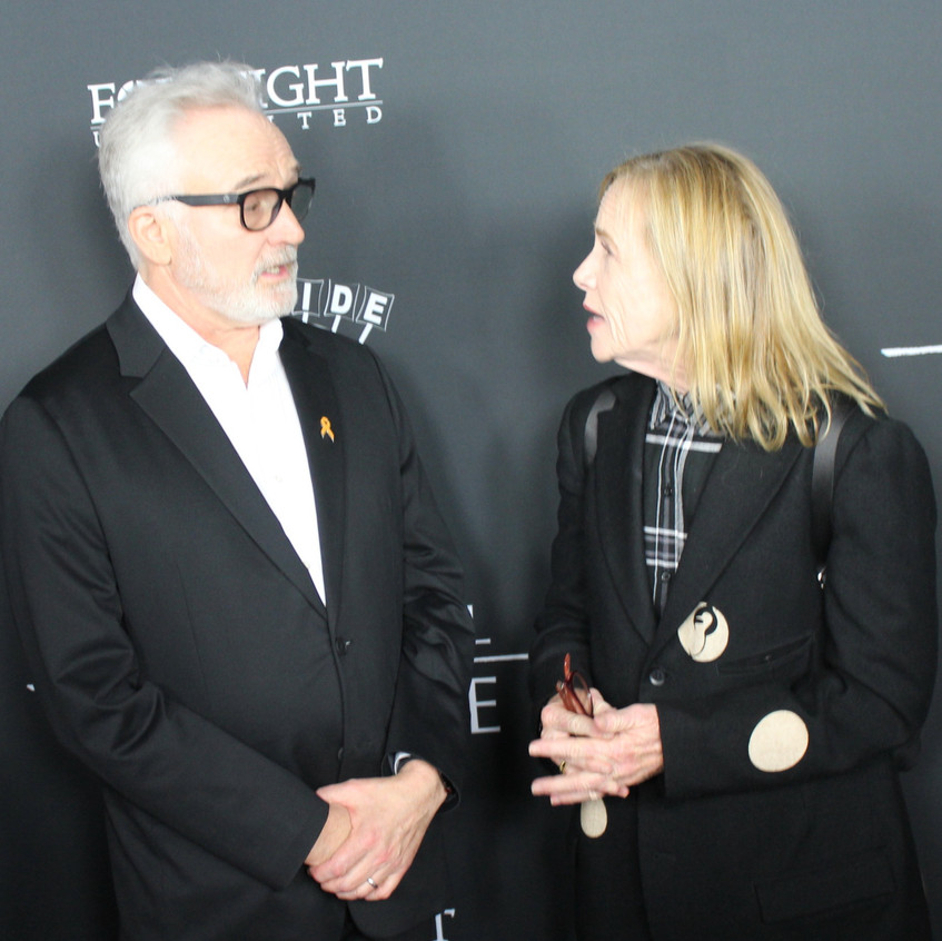 Bradley Whitford and Amy Madigan- Casts.
