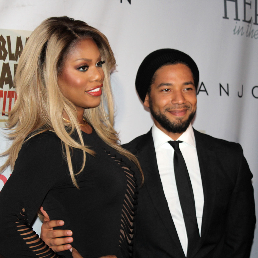 Laverne Cox-Honoree and Jussie Smollett - Host