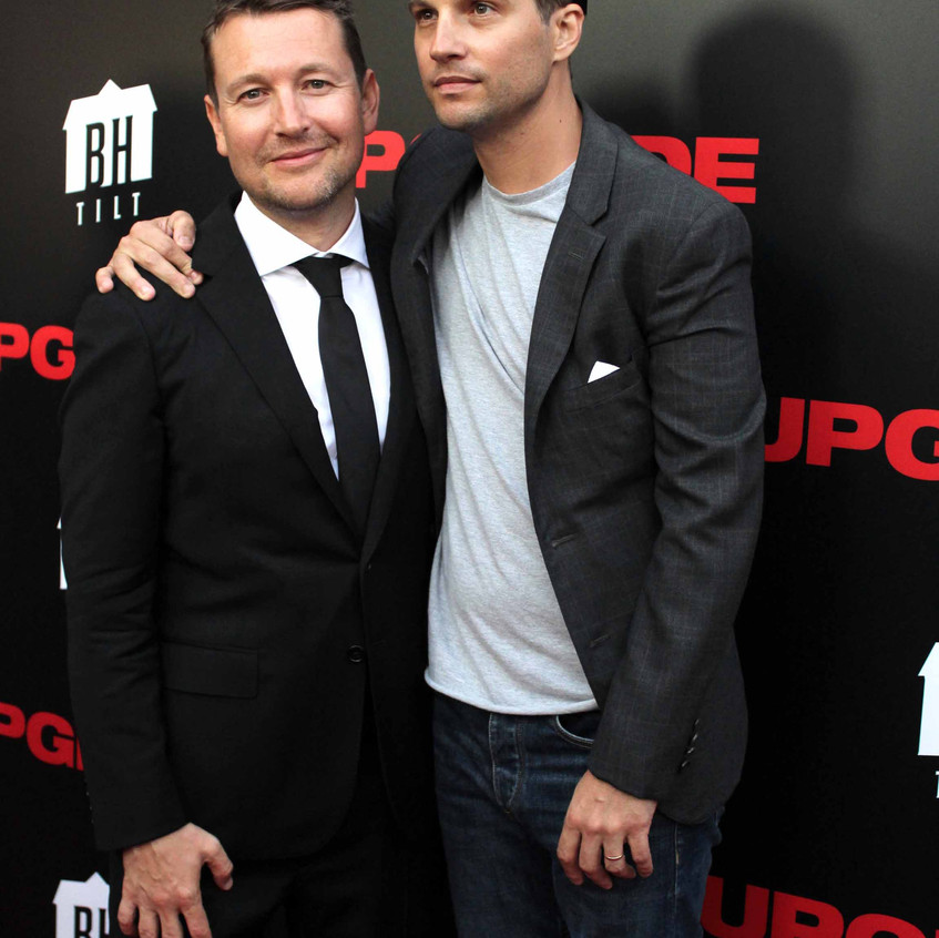 Leigh Whannell - Director and Logan Marshall-Green- Actor- UPGRADE 1