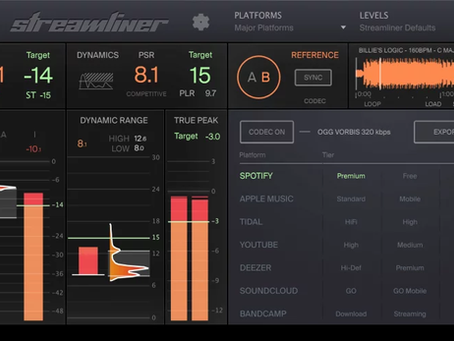Produce masters for streaming with ADPTR Audio's Streamliner plugin
