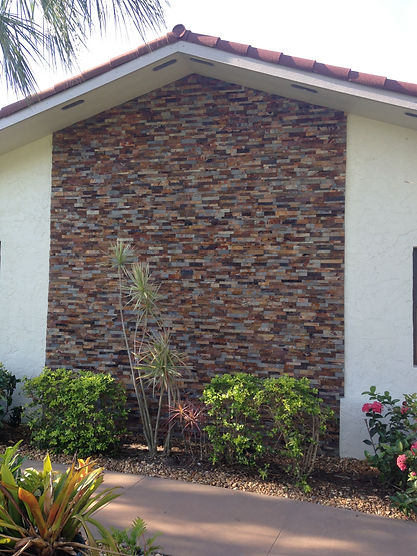 Stone wall fort myers