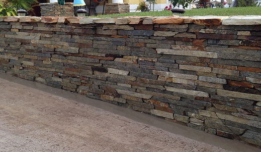 Ledgestone Wall