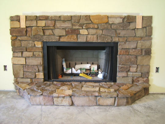 Fireplace in Naples Florida