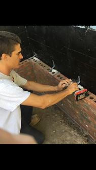 installing brick wall ties