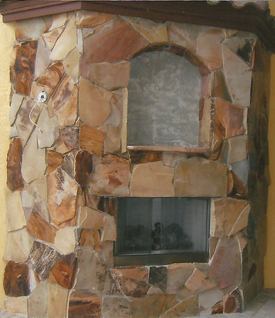 Stone Fireplace Naples