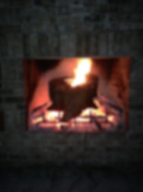 Fort Myers Real fireplace