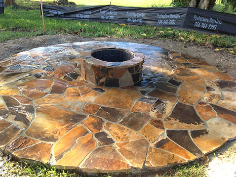 Flagstone Patio Naples Florida