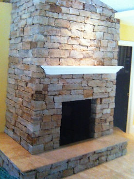 Indoor Fireplace Naples Florida