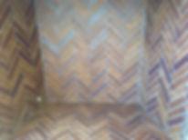 Herringbone Brick Isokern Fireplace