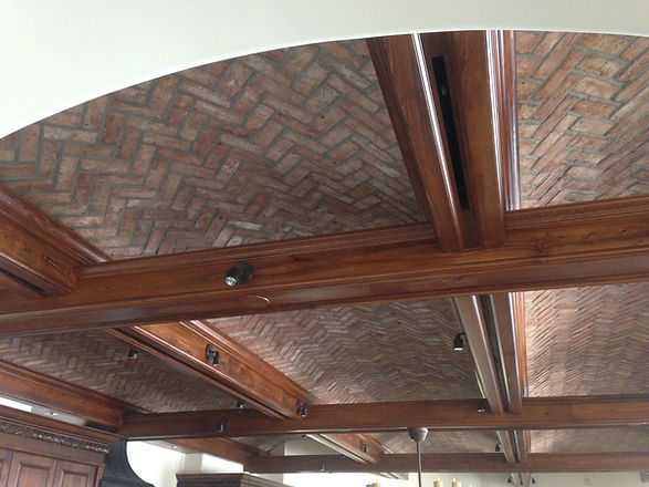 Brick Barrel Ceiling