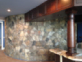 Natural Stone Radial Wall
