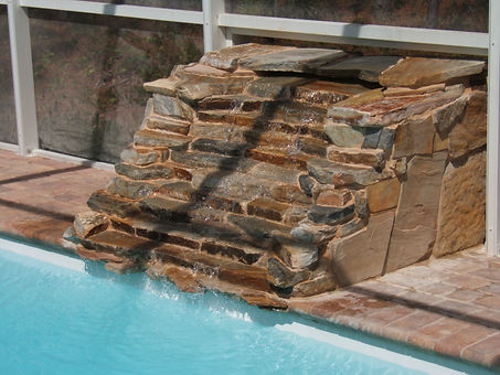 Stone Waterfall Naples Florida